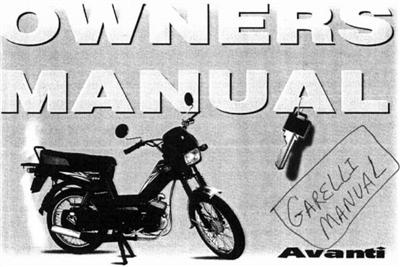 free garelli avanti step through moped manuals Aermacchi Wiring Diagram